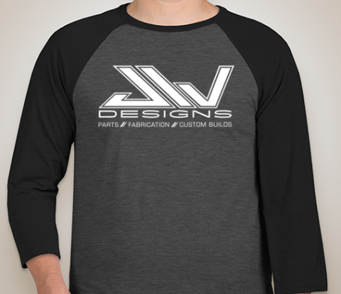 Heather Grey/Black Raglan Shirt